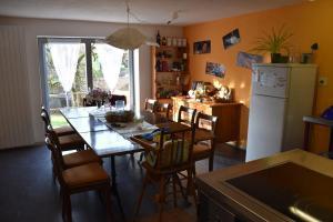 Unser Esstisch in der Küche